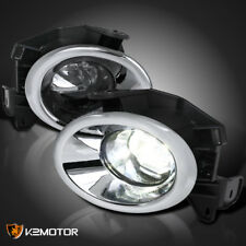 Fit 2013-2016 Pathfinder Super Bright LED Projector Bumper Lamp Fog Light+Switch