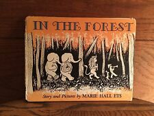 In The Forest, Marie Hall Ets. Faber And Faber, London. Second Impression 1960