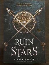 RUIN OF STARS by LINSEY MILLER (MASK OF SHADOWS) ARC uncorrected proof 2018