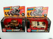 Vintage 1980s A-Team rough Rider Switchforce action vehicles - mib ljn