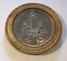 GRATULATIONE ET LAETITIA ORBIS CATHOLICI The Virgin over Catholic World Medal