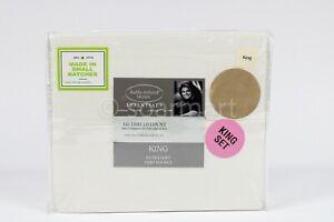 Kathy Ireland 300 Thread Count combed Cotton Sheet Set  King 4 pcs set