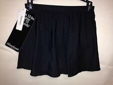 Miraclesuit Skirted Bottom 8 Black 472003 NWT