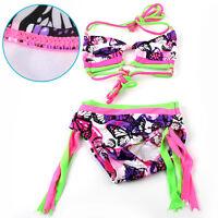 Baby Girls Kids Princess Bikini Tankini Swimwear Swimsuit Swimming Lovely Costum