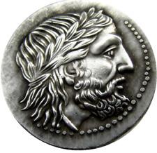 Rare Ancient Greek Silver Tetradrachm Coin of King Philip II 323 BC