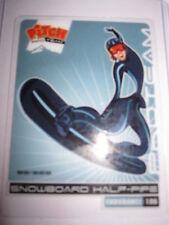 CARTE TRANSPARENTE PITCH SNOWBOARD HALF-PIPE 80/200