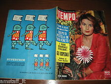RIVISTA TEMPO 1958/48=SILVANA MANGANO=RIVOLTA BOUNTY=MIKE HAWTHORN=