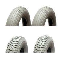 MOBILITY SCOOTER PUNCTURE PROOF TYRES 300-4 260 x 85 FULL SET (4) SOLID TYRES