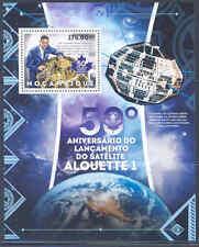 Mozambique 2012 Alouette Satellite 50Th Anniversary Of Launch Souvenir Sheet