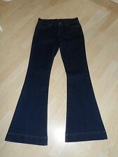 Dark Indigo Flared / Bell Bottom Jeans French Connection Size 10 New
