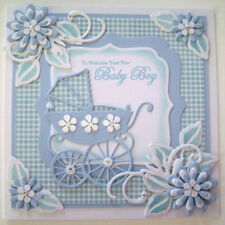 Baby Carriage Cutting Dies Stencil Scrapbook Paper Card Carfts Album Embossing