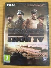 Hearts of Iron IV ROCKET LAUNCHER PACK/POLAND UNITED (PC-DVD) NEW SEALED