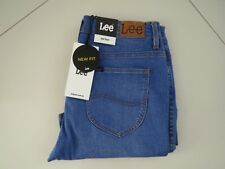 Lee Ladies Vibrant Blue Mid Flare Stretch Jeans Size 13S