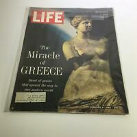 Life Magazine: Jan 4, 1963 - Beginning a New Series: The Miracle of Greece