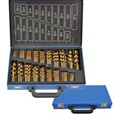 SET 170 PUNTE ASSORTITE PER TRAPANO HSS DORATE IN TITANIUM 1mm - 10mm VALIGIA