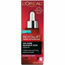 L'Oreal Paris Revitalift Derm Intensives Hyaluronic Acid Facial Serum 1 fl oz.