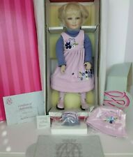 COA #782 NEW AND NEVER REMOVED FROM BOX MARIE OSMOND SHELBY PORCELAIN DOLL