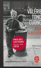 PAR AMOUR Valérie Tong Cuong roman livre histoire