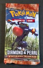 Pokemon MYSTERIOUS TREASURES Diamond & Pearl Booster Pack Factory SEALED