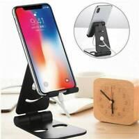 Universal Adjustable Desktop Stand Desk Phone Holder For Tablet/iPad/iPhone ~