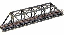 Central Valley 1820 - 150ft Pratt Truss Bridge w/ Walkways - N Scale