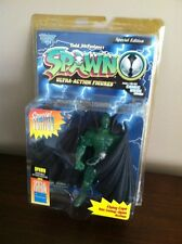 1996 McFarlane Spawn Special Edition GREEN FLYING CAPE Action Figure MOC