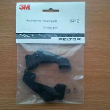 3m ™ Peltor ™ Visor sistema de vinculación Kit, Protección Facial V412 vinculación Par