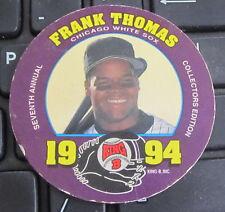 Hofer MLB Baseball Card Disc Chicago White Sox Frank Thomas Quality Meat Snacks