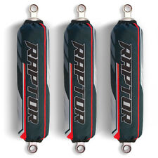 Grey Red Shock Covers Yamaha Raptor YFM 700 700R Special Edition (Set of 3)