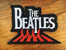The Beatles Embroidered sew iron on patch abbey road rock pop band music logo