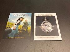 Cryptozoic Outlander Season 1 Promo Cards - P1 and P4 - HTF Rare