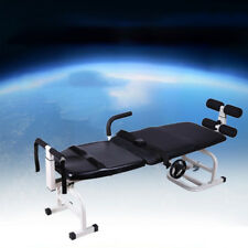 New Therapy Massage Bed Table Cervical And Lumbar Traction Bed Stretching Device
