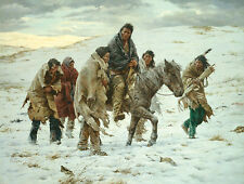 CHIEF JOSEPH RIDES TO SURRENDER LIMITED EDITION PRINT BY HOWARD TERPNING