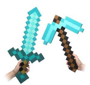 Minecraft Schwert Spitzhacke Waffen Modell Figures Spielzeug My World
