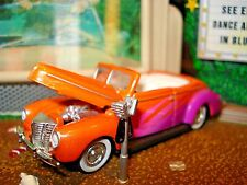 1940 40 FORD CONVERTIBLE LIMITED EDITION CUSTOM WHEEL SWAP 1/64 COOL HOT ROD