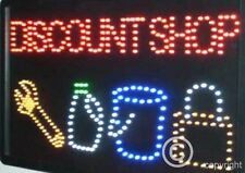 QUALITY  FLASHING  DISCOUNT led new window shop signs