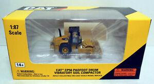 1/87 HO Norscot Models Caterpillar CAT Padfoot Drum Vibratory Soil Compactor
