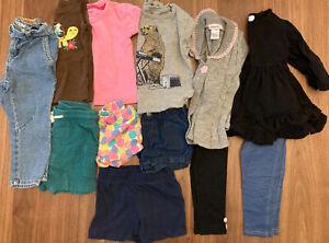 Toddler Girl 2t 18m 24m 12pc clothing lot Carters Baby Gap Oshkosh short legging