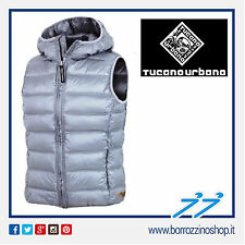 GILET TUCANO URBANO HOT DOG LADY 8854-GM GRIGIO TG. 40
