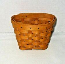New ListingLongaberger 2001 Small Wall Hanging Basket