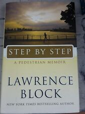 Step by Step A Pedestrian Memoir by Lawrence Block Hardcover Book English