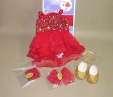 AMERICAN GIRL SPARKLY JAZZ OUTFIT FOR DOLLS - ISABELLE MARISOL GABRIELA NIB READ