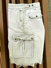Abercrombie & Fitch Mens Cargo Shorts 36W