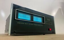 McIntosh MC 2002 200 Watt Dual Channel Power Amplifier. Excellent Condition!