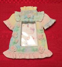 """""""Baby Girl� Dress Resin Photo Frame"""