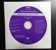 *NEW* Dell Windows 10 Pro SP1 64 Bit OS Restore Recovery DVD Disc w/opt. HDD