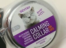 New Sentry Calming Collars for Cats, 3 Collars, Scientifically Proven