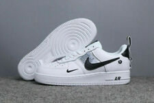 Sports NIKE AIR FORCE 1'07 Sneaker Shoes Leather Sneakers Women Men White UK