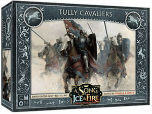 A Song of Ice & Fire - Tully Cavaliers Miniatures Games NEW CMON
