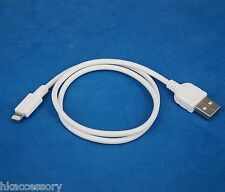 0.5m 50cm 1.5ft Fast Charger ONLY USB cable WHITE for iPad Air 2 4 mini 3 Retina